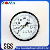 Manómetro geral da montagem traseira com 4 pressão da polegada de diâmetro 0.16MPa