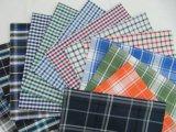 Покрашенная хлопчатобумажной пряжей сплетенная ткань Shirting способа Оксфорд