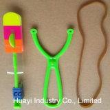 8대 인치 고무줄 LED 헬기 장난감