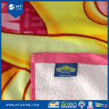 ベロアの反応印刷されたカスタム昇進のビーチタオル