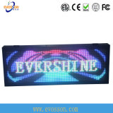Energy Saving portable LED scrolling display for net curtain Advertizing
