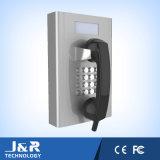 LCD表示が付いている病院の電話、駐車場の電話、刑務所の電話、銀行業務の電話