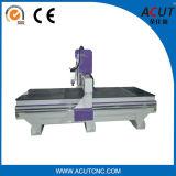 Máquina de grabado del eje de rotación de la máquina una del CNC de la puerta de madera sólida Acut-1325