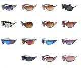 Las gafas de sol de la manera de la marca de fábrica aclaran las gafas de cristal