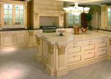 Cabinet de cuisine en bois plein (SHS-KS56)
