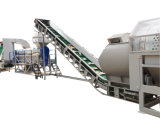 Бутылка рециркулируя машинное оборудование и моющее машинау отхода пластичное рециркулируя