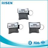 Односторонняя защитная маска Keychain CPR дыхательной маски клапана