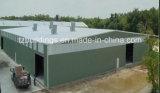 Edificio ligero África de la estructura de acero