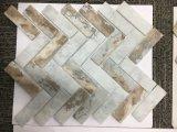 Mosaico de cristal Herringbone de la carrocería completa de la impresión de la inyección de tinta de la más nueva tecnología