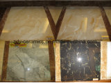 Telhas de assoalho de pedra de mármore de cristal da promoção micro
