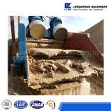 Macchina per la rimozione e la separazione della sabbia dalle ghiaie