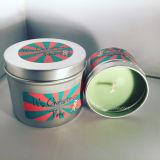 Velas perfumadas decorativas de Aromatherapy del último recorrido del estaño