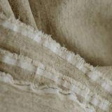 Baumwollfestes Leinenbaumwollgewebe des 60% Leinen-40%