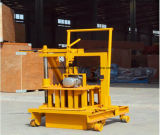 Qt40-3cの手動煉瓦作成機械