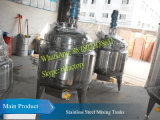 200L Stainless Steel Heating Mixing Tank (com o misturador elevado da tesoura)