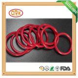 Joint circulaire coloré de résistance de pétrole de FDA de silicones
