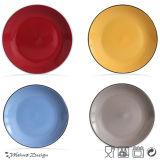 Bulk Witte Ceramische Ceramische Plaat