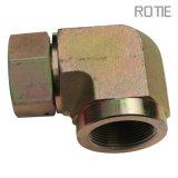 Latón adaptadores para tubos de acero al carbono mecanizado de piezas