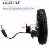 12 Motor van de Hub van de Rolstoel van de duim gelijkstroom Brushless Aangepaste met ElektroRem Magentic