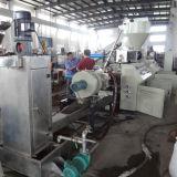 Estirador de solo tornillo para el plástico que recicla la línea de la granulación