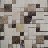 Плитка мозаики самой новой специальной нержавеющей стали конструкции 2016 смешанная естественная каменная (FYSSC158)