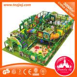 Campo de jogos interno das crianças do estilo da selva da série do jardim de infância