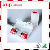 Connecteur de Microduct de HDPE pour l'installation de fibre pour le tube Od/ID 16/12mm