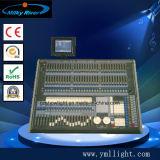 Consola 2048 del tigre DMX con la visualización y el caso del vuelo, regulador de DJ, regulador alejado del LCD del tigre