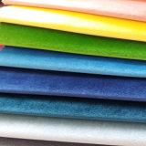 Polyester-Polsterung-Gewebe gesponnenes Fenster-Vorhang-Sofa-Samt-Gewebe