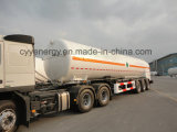 중국 ASME를 가진 2015 LNG Lox 린 Tank Car Semi Trailer