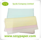 Papier-copie sans carbone blanc pour l'impression