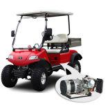 Distributeur de cargaison de générateur hybride/boguet électriques 2seat de golf