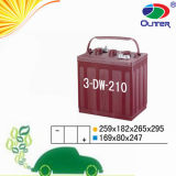 6V210ah Sealed Maintenance Free Car Battery met 15years Life