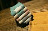 かわいい漫画デザイン女の子の綿のソックス