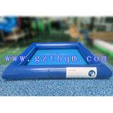 Pool de água inflável ao ar livre Giant / PVC 0.8-1.0mm Pool de água inflável