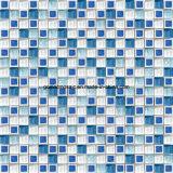 豪華なStyle Blue及びGlassのWhite Ice Crackle Ceramic Mosaic