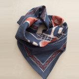 Sciarpe quadrate 100% del cotone di modo piccole per la sciarpa della fascia del bambino dei bambini