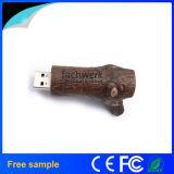 Movimentação de madeira do flash do USB da ecologia original barata maioria