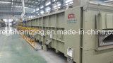 Électro machine d'électrodéposition de zinc pour le fil d'acier