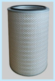 PTFE Coating Water&Oil Repellent Round Flange Dust 또는 Powder Filter Cartridge