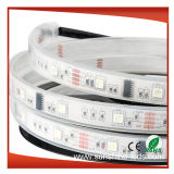 SMD5050 150LEDs impermeabilizzano l'indicatore luminoso di striscia di IP67 Digitahi 6803IC RGB LED