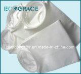 Sachet filtre liquide de tissu de fibre de pp (polypropylène) pour l'industrie