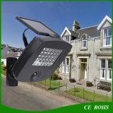 Lampe réglable de garage de 30 DEL de jardin de lumière d'éclairage extérieur infrarouge solaire de projecteur