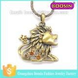Halsband van het Hart van het Kristal van de Douane van de manier 18k de Goud Geplateerde voor Vrouwen