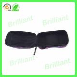 Caixa de vidros de couro dos óculos de proteção do OEM da fábrica (GC009)