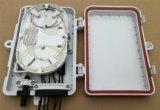 De plastic Shell FTTH Optische EindDoos van de Vezel 6port