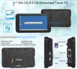 PC de Embedded Industrial Panel de 7 pulgadas con Wince6.0