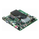 COM mince superbe 8 USB2.0 de la carte mère encastrée par Itx 2 de CPU du double coeur DMA N330 mini
