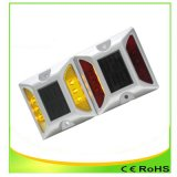 Amarillo Solar 4/6 flash LED reflectante Camino Stud