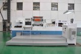 Flatbed automático Foil Stamping Die Cutting e Creasing Machine